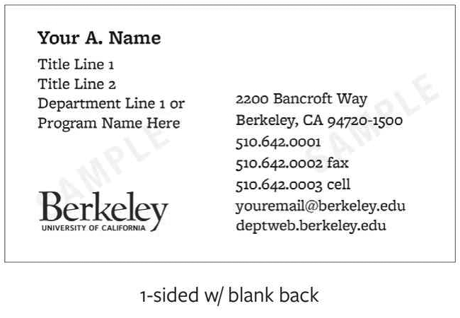 Ordering business cards library administrative services horizontal design with blank back reheart Images